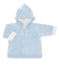 Angel Dear Zip Front Hooded Fuzzy Jackets