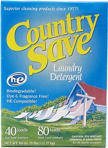 Country SaVe 5lbs Laundry detergent
